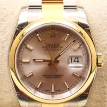 Rolex Datejust, Ref. 116203 - silber Index  ZB/Oysterband