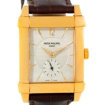 Patek Philippe Gondolo Mechanical 18k Yellow Gold Watch 5111j