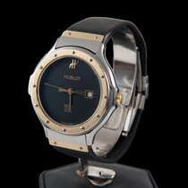 Hublot classic steel and gold mediun size