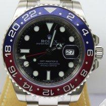 Rolex GMT Master II White Gold Blue Red Pepsi Bezel 116719BLRO