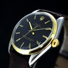 Rolex Oyster Perpetual Automatic Black Dial Stahl/Gold