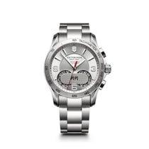 Victorinox Swiss Army Chrono Classic, silver dial, steel,...