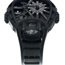Hublot Key of Time Black Dial Titanium Men's Watch