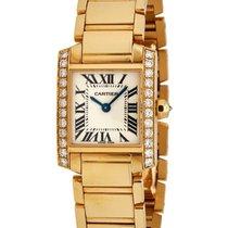 Cartier Tank Franciase 18K Yellow Gold Watch – WE1001R8