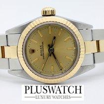 Rolex DATE Lady Oyster Steel & Gold Ser . L 18kt  2393