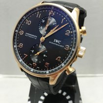 IWC Portuguese Chronograph 18k Rose Gold