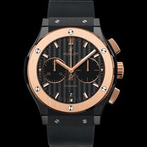 Hublot 521.CO.1781.RX Classic Fusion Chrono Ceramic King Gold...