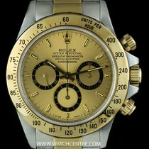 Rolex S/G O/P Champagne Dial Zenith Movement Daytona B&P...