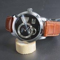Glashütte Original PanoReserve Grey Dial Handaufzugs-Manufaktu...