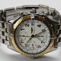 Breitling Chronomat Stahl / 18k Gelbgold mit Goldlünette...