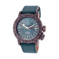 Glycine Airman 18 Mother Of Pearl Dial Automatic Men's Watch