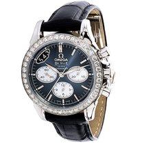 Omega DeVille Chronograph 422.18.35.50.06001 Women's Watch...