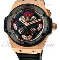 Hublot Big Bang King Power Unico GMT, Black Dial - Rose Gold...