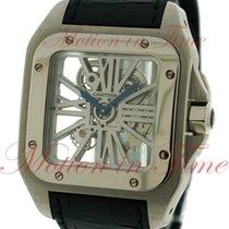 Cartier Santos 100 Extra Large, Skeleton Dial - Palladium on...