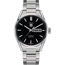 TAG Heuer CALIBRE 5 DAY-DATE - 41MM - STEEL WATCH