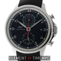 IWC Portuguese Collection Yacht Club Chronograph Black Dial...