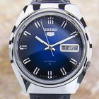 Seiko 5 Automatic 7009-8310 S.steel Watch 1970's Jr23