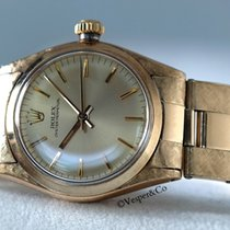 Rolex 14kt gold Mid Size oyster