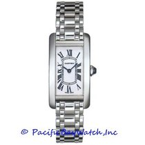 Cartier Tank Americaine Ladies W26019L1 Pre-Owned
