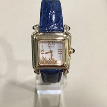 Chopard Happy Sport Square 18k Yellow Gold