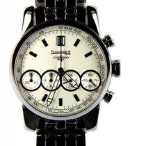 Eberhard & Co. Chrono 4 Stahl Chronograph Armband Stahl 40mm