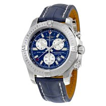Breitling Colt Chronograph Blue Dial Quartz Men's Watch