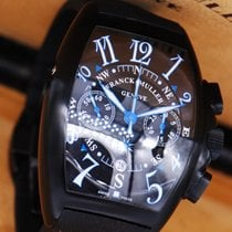 Franck Muller Mariner Chronograph Pvd Black Automatic (mint)