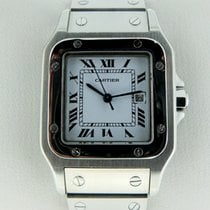 Cartier santos steel automatic medium