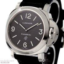 Panerai Luminor 44 Base Logo PAM 000 Stainless Steel Box...