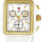 Michele Deco Ceramic Diamond Watch