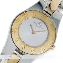 Baume & Mercier Lady Watch Stahl 5251 Vergoldet