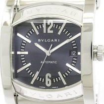 Bulgari Polished  Assioma Stainless Steel Automatic Mens Watch...