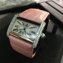 Cartier Tank divan 2599 con diamanti
