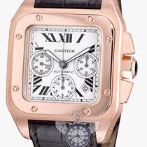 Cartier Santos 100 XL Chronograph Rosegold