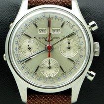 Ulysse Nardin Vintage Chronograph Stainless Steel, Triple...