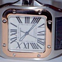 Cartier Santos 100 18K Rose Gold