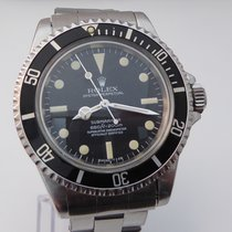 Rolex Submariner 5512 1967 Four lines  Orig.  Rivet Bracelet