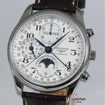 Longines Master Collection Moon Phase Chronograph 95% New Box...