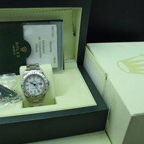 Rolex 2007 ROLEX EXPLORER 2 16570 WHITE DIAL WITH FULL SET