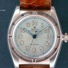 Rolex Rare Vintage 1940s Pink Gold Bubbleback Super Mint...