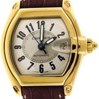 Cartier W62003V2 Roadster 18k Yellow Gold