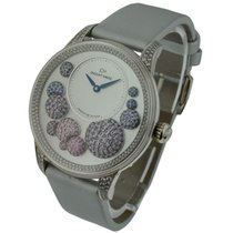 Jaquet-Droz The Heure Celeste Automatic White Gold Diamond Bezel