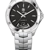 TAG Heuer Link Calibre 5 Day Date 42mm Black Dial