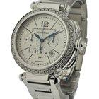 Cartier Pasha Chronograph Boutique Edition Diamond Beze...