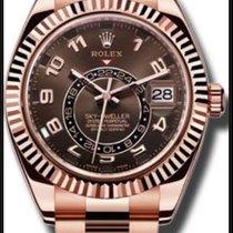 Rolex 326935 CH  Sky Dweller  full pink gold