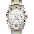 Rolex Datejust 36 116261-WHTSTO White Index Turn-O-Graph...