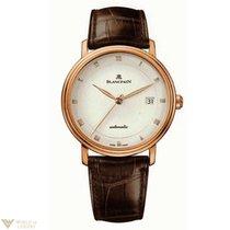 Blancpain Villeret Ultra-Slim Date Rose Gold Men's Watch