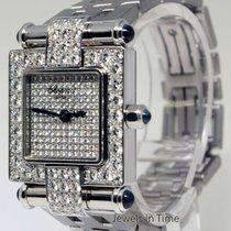 Chopard Imperiale Ladies 18k White Gold Diamond & Sapphire...