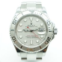 Rolex Yachtmaster 41mm Steel & Platinum Oyster Band