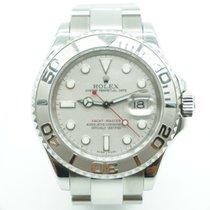 Rolex Yachtmaster 41 Steel & Platinum Bezel & Dial...